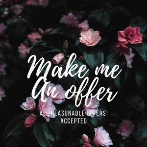 Other - All reasonable offer accepted